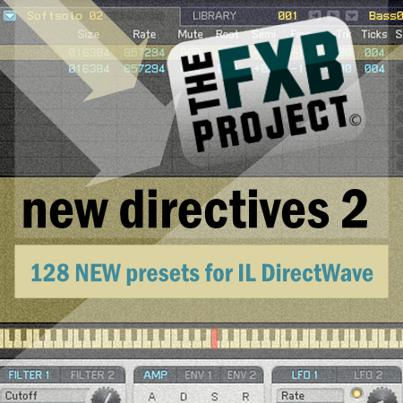 The FXB Project - New Directives 2